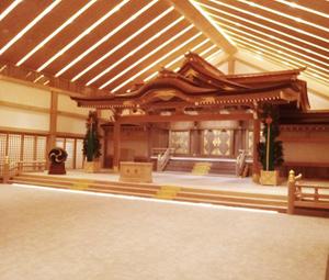 鹿島神宮新祈祷殿